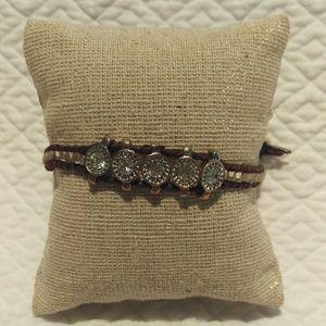 Nakamol Jewelry - Nakamol leather bracelet